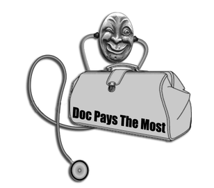 DocPaysTheMost Logo - Want To Sell Your Antiques? Call The Doc!