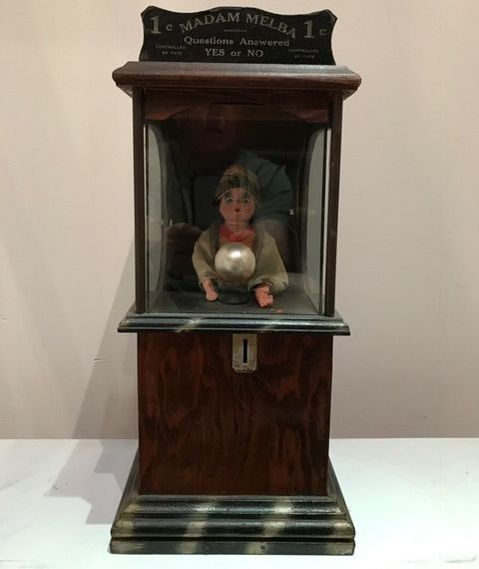 Antique Coin-Operated Machines - Fortune Teller