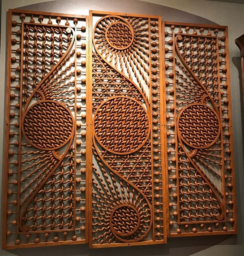 Moroccan Fretwork Panels: Sell Antique Frework In New York, NYC.