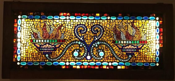 Classic Stained Glass - Belcher Mosaic Stained Glass Window